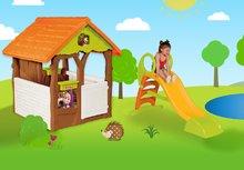 Domčeky so šmykľavkou - Set domček Máša a medveď Smoby s kvetináčom a šmykľavka Toboggan KS s dĺžkou 150 cm od 24 mes_11