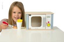 Drevené kuchynky - Drevená mikrovlnka Picnik Microwave Janod s 9 doplnkami_1