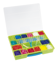 Rainbow Loom príslušenstvo - Plastový organizér Rainbow Loom zelený_0