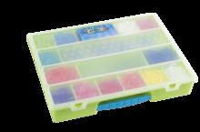 Rainbow Loom príslušenstvo - Plastový organizér Rainbow Loom zelený_1