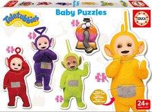 Baby Puzzle Teletubbies Educa 5 figúriek od 24 mesiacov