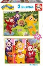 Puzzle pre deti Teletubbies Educa 2x20 dielov