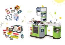 Kuchynky pre deti sety - Set kuchynka CookMaster Verte Smoby s ľadom a zvukmi a dotyková elektronická pokladňa s funkciami_23