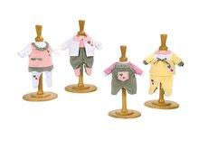 Kočíky pre bábiky sety - Set kočík pre bábiku Frozen Smoby hlboký (54 cm rúčka), bábika Baby Nurse 32 cm a 3 šatôčky od 18 mes_2