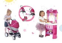 Kuhinje za djecu setovi - Set kuhinja Disney Princeze Smoby sa satom i kolica za lutku retro Maxi Cosi & Quinny 3u1 (65.5 cm ručka)_16