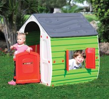 Domčeky pre deti - Domček New Fairy House Starplast zeleno-sivý od 24 mes_0