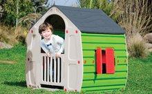 Domčeky pre deti - Domček New Fairy House Starplast zeleno-sivý od 24 mes_1