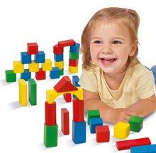 Dřevěné kostky - Dřevěné kostky Wooden Toy Blocks Eichhorn barevné 85 dílů v různých tvarech od 12 měsíců_0