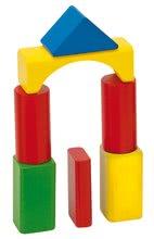 Dřevěné kostky - Dřevěné kostky Wooden Toy Blocks Eichhorn barevné 85 dílů v různých tvarech od 12 měsíců_2