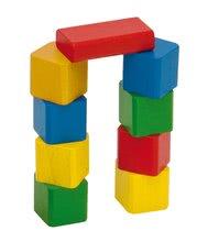 Dřevěné kostky - Dřevěné kostky Wooden Toy Blocks Eichhorn barevné 85 dílů v různých tvarech od 12 měsíců_3