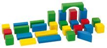 Dřevěné kostky - Dřevěné kostky Wooden Toy Blocks Eichhorn barevné 85 dílů v různých tvarech od 12 měsíců_4