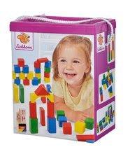 Dřevěné kostky - Dřevěné kostky Wooden Toy Blocks Eichhorn barevné 85 dílů v různých tvarech od 12 měsíců_7