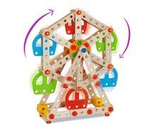 Dřevěné stavebnice Eichhorn - Dřevěná stavebnice lunapark Constructor Big Wheel Eichhorn 3 modely (lunapark, maják, lanovka) 240 dílů od 6 let_3