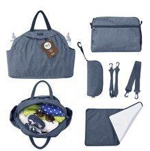Previjalna torba Chic 5v1 toTs-smarTrike z notranjo torbico in termo ovitkom za steklenico modra