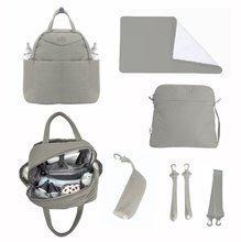 Prebaľovacia taška Infinity 5v1 toTs-smarTrike s vnútornou taškou a termoobalom na fľašu béžová
