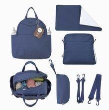 Previjalna torba Infinity 5v1 toTs-smarTrike z notranjo torbico in termo ovitkom za steklenico modra