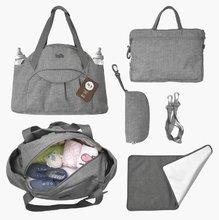 Přebalovací taška Voyage 4v1 Tots-smarTrike s vnitřní taškou a termoobalem na láhev šedá