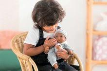 Bábiky od 18 mesiacov - Bábika Bébé Calin Marius Corolle s čiernymi klipkajúcimi očami a fazuľkami 30 cm od 18 mes_1