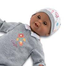 Bábiky od 18 mesiacov - Bábika Bébé Calin Marius Corolle s čiernymi klipkajúcimi očami a fazuľkami 30 cm od 18 mes_4