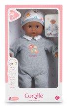 Bábiky od 18 mesiacov - Bábika Bébé Calin Marius Corolle s čiernymi klipkajúcimi očami a fazuľkami 30 cm od 18 mes_6