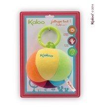 Hračky nad postieľku - Plyšová loptička Colors-Activity Ball Kaloo mäkká 13 cm pre najmenších_0