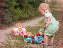 Plyšové medvede - Plyšový medvedík Colors-Chubby Bear Mushroom Kaloo 18 cm v darčekovom balení pre najmenších_3
