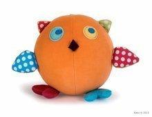 Kaloo plyšová sovička Colors-Activity Owl 963274 oranžová