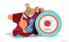 Plišasta miška lutkovno gledališče Colors-Doudou Puppet Mouse Squirrel Kaloo 20 cm v darilni embalaži za najmlajše