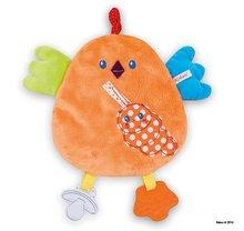 Hrkálky a hryzátka - Plyšové kuriatko Colors-My Sweet Doudou Chick Kaloo s hryzátkom 25 cm pre najmenších_1