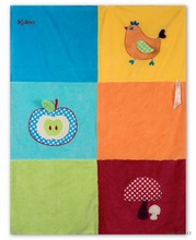 KALOO 963272 dětská deka na hraní Colors-Buggy Blanket pro nejmenší děti