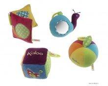 Hračky nad postieľku - Plyšová kocka Colors-Activity Kaloo 13 cm pre najmenších_0