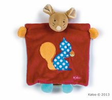 Kaloo plyšová myš Colors-Doudou Puppet Mouse Squirrel 963263 červená