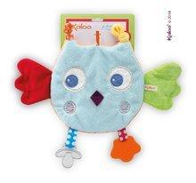 Kaloo Colors-My Sweet Doudou Owl plüss bagoly rágókával a legkisebbeknek 25 cm
