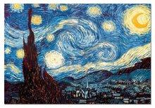 Staré položky - Puzzle Van Gogh Educa 1000 dílků a FIX PUZZLE LEPIDLO_1