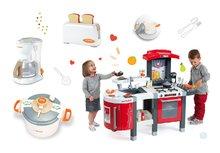 Kuchynky pre deti sety - Set kuchynka Tefal SuperChef Smoby s grilom a kávovarom a 3 kuchynské spotrebiče Tefal_28