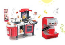 Kuchynky pre deti sety - Set kuchynka Tefal SuperChef Smoby s grilom a ľadom a elektronický kávovar Rowenta Espresso_18