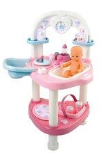 Domčeky pre bábiky sety - Set prebaľovací stôl pre bábiku Baby Nurse Srdiečko Smoby a vanička pre bábiku_7