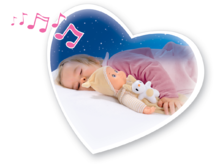 Domčeky pre bábiky sety - Set prebaľovací stôl pre bábiku Baby Nurse Srdiečko Smoby a bábika so zvukom MiniKiss do postieľky 27 cm_9