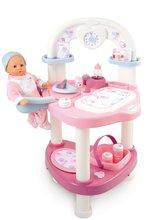 Domčeky pre bábiky sety - Set prebaľovací stôl pre bábiku Baby Nurse Srdiečko Smoby a vanička pre bábiku_0