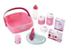 Domčeky pre bábiky sety - Set prebaľovací stôl pre bábiku Baby Nurse Srdiečko Smoby a vanička pre bábiku_6