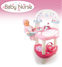 Domčeky pre bábiky sety - Set prebaľovací stôl pre bábiku Baby Nurse Srdiečko Smoby a vanička pre bábiku_10