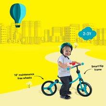 Odrážadlá od 18 mesiacov - Balančné odrážadlo Running Bike 2v1 smarTrike modro-čierne od 24 mes_2