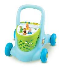 Staré položky - Modrý vozík chodítko Cotoons Trott Smoby od 12 mes_3