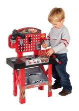 Pracovní dětská dílna - Pracovní stůl Auta Smoby s mechanickou vrtačkou, autíčkem McQueen a 20 doplňky_0