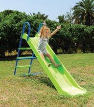 Tobogane pentru copii - Tobogan Starplast drept cu structură metalică verde_0