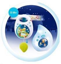 Hračky pre bábätká - Sada do postieľky Smoby nočné svetlo a hudobná skrinka pre najmenších modrá/ružová_5