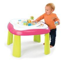Interaktívne hudobné stoly - Didaktický stolík Cotoons Youpi Smoby multifunkčný ružový od 6 mes_1