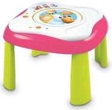 Interaktívne hudobné stoly - Didaktický stolík Cotoons Youpi Smoby multifunkčný modrý/ružový od 6 mes_1