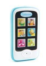 Smartphone Cotoons Smoby cu funcţii de redare albastru de la 6 luni