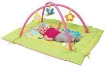 Hrazdičky a hrací deky - Hrací deka s hrazdou Cotoons Discovery Smoby s hnízdem, chrastítky a rybníkem pro nejmenší růžová_0